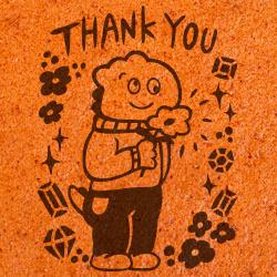 DE CARNERO CASTE 羊のカスティーリャ「Thank you」焼き印